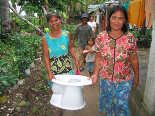 Coastal villagers find comfort in EcoSan